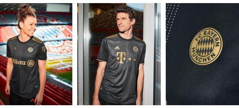 Novo uniforme do Bayer de Munique